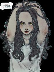 Girl Render #109 by ImTsundereBaka
