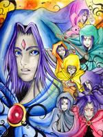 TEEN TITANS - Ravens by gogglegirl