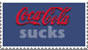 Coca Cola Hater Stamp by m0riendi