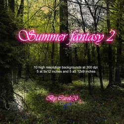 Summer Fantasy 2 by JezyCarole
