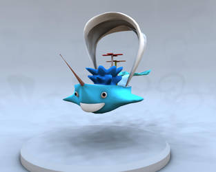 Whale Boat by SunnyMothman200