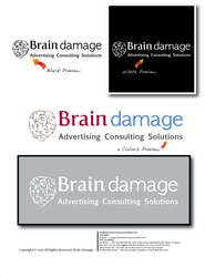 Brain Damage Agency Logo by MahdyDesigns