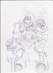 warhammer 40k..jugger-night by zerok303
