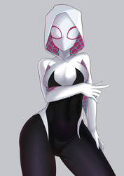 Spider-Gwen by AoriSora