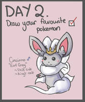 40 Day Pokemon Challenge: 2 by Sophalone