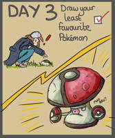 40 Day Pokemon Challenge: 3 by Sophalone