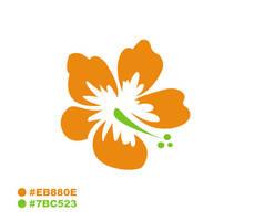T-shirt Flowers logo by savianty