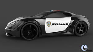 The Chase: Cop Concept 6 by talonboy3