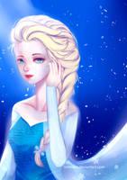 Frozen - Queen Elsa by tomiden