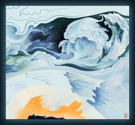 Whitami Journey- Waves of Time by luana