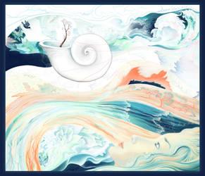 Whitami Journey - Coral Dream by luana