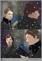 Sherlock BBC FanArt: Hmm.... by Shin-ichi