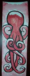 Watercolor Ink Octo 1 by netgoo