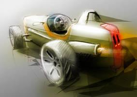 Single seat racer by widebloke