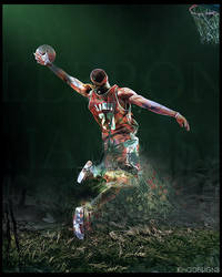 Lebron Can't Be Stopped by e-klipse
