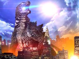 Godzilla 2014 by Jacksondeans