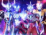 Ultraman Geed Forms by Jacksondeans