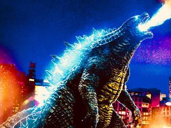 Legendary Godzilla! by Jacksondeans