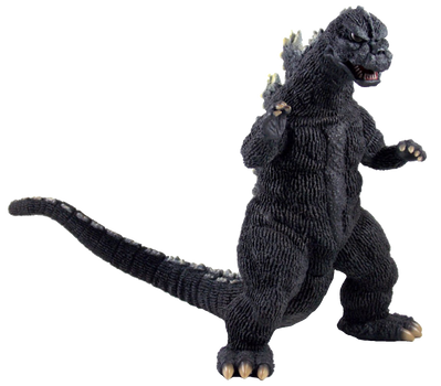 Godzilla 1975 Transparent! by Jacksondeans