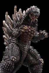 Godzilla 2004 (Concept Ver.) Transparent Ver.2! by Jacksondeans