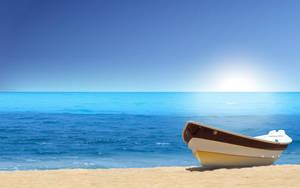 Island Boat II by dimage