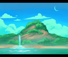 Island by Pixel-Coyote