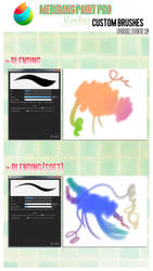 Medibang Paint Pro: Blending custom brushes by euphoriadOll