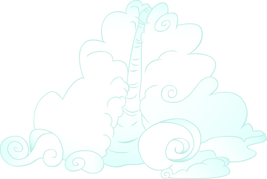 Rainbow Dash's Cloud Slide by CloudshadeZer0