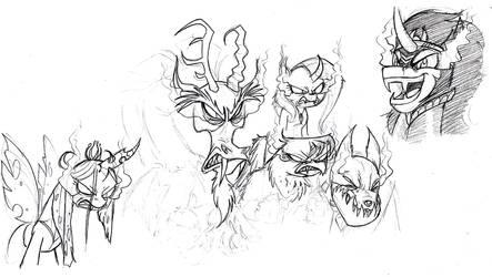 GO FORTH sketch by Mickeymonster