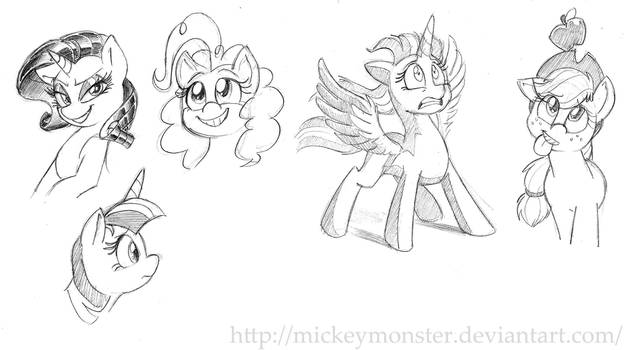 Poniessss by Mickeymonster