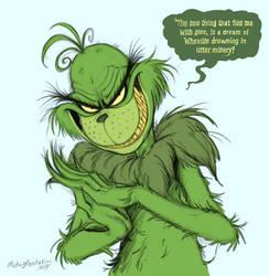 Mr. Grinch by Mickeymonster