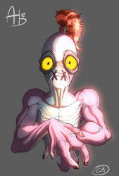Odd Lil Abe by Mickeymonster