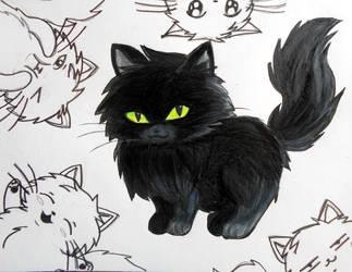 Anime Kitten 2 Request By Ravendaniels On Deviantart