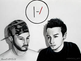 twenty one pilots by RavenDANIELS