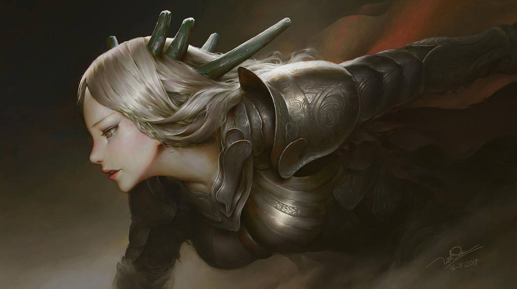 Dephanie the Light warrior by letrongdao