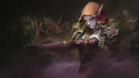 Windrunner by letrongdao