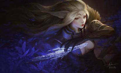 Mothianna the Diamond sword by letrongdao