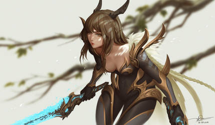 Dragon Warrior by letrongdao
