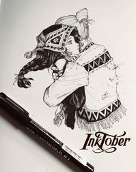 inktober 2018 by letrongdao