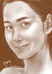 korean actress - son ye jin by kimimaro90