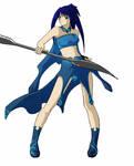 Water Warrior by reenas-as