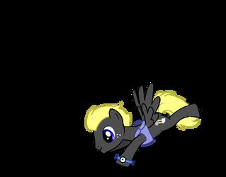 New pony OC:Storm Chaser by Roborexy