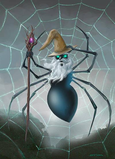 Spider Wizard by Stungeon