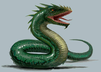 Basilisk by Stungeon