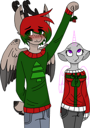 A Shy Reindeer - Open Collab~ by BIueMoon
