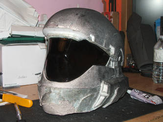 ODST visor fit test other side by streetdreamschoppers