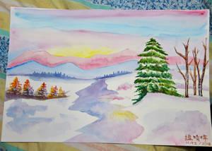 Winter Morning by JingTingWei