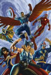Avengers by edsonenn