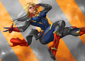 Miss Marvel by edsonenn