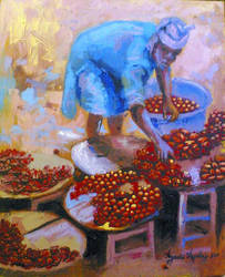 Ayodeji Paintings by awizzy